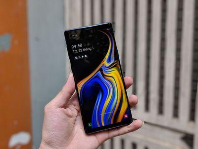 Samsung Galaxy NOTE 9 Đẹp 99% - [1 SIM/2 SIM]