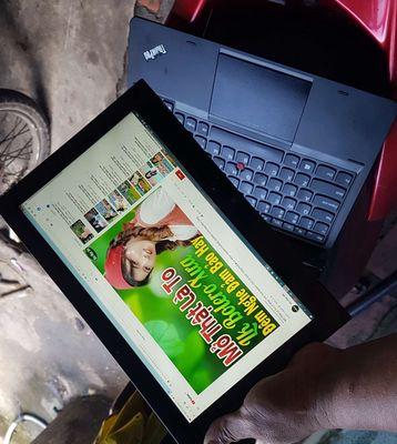 Lenovo Helix I5 3337u SSD 256G Pin 5h tháo rời