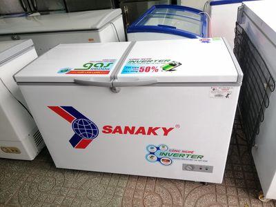 Tủ đông Sanaky 360L mới dùng tiết kiệm điện