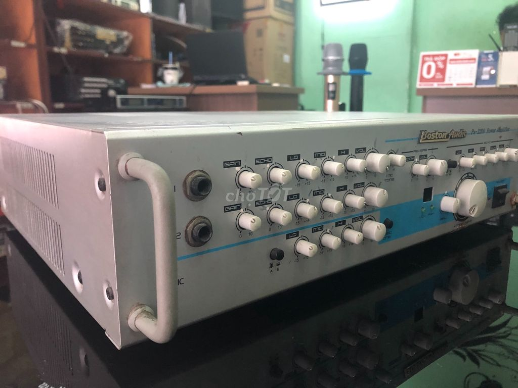 0932770189 - Amply Boston pa-2200(made in korea) Hàng thanh lý