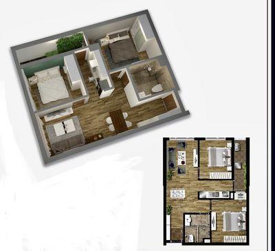 Bán căn hộ chung cư 69m2, tòa nhà The Golden Palm