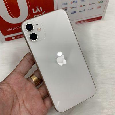 Apple iPhone 11 128gb trắng zin ốc đẹp 99 quốc tế
