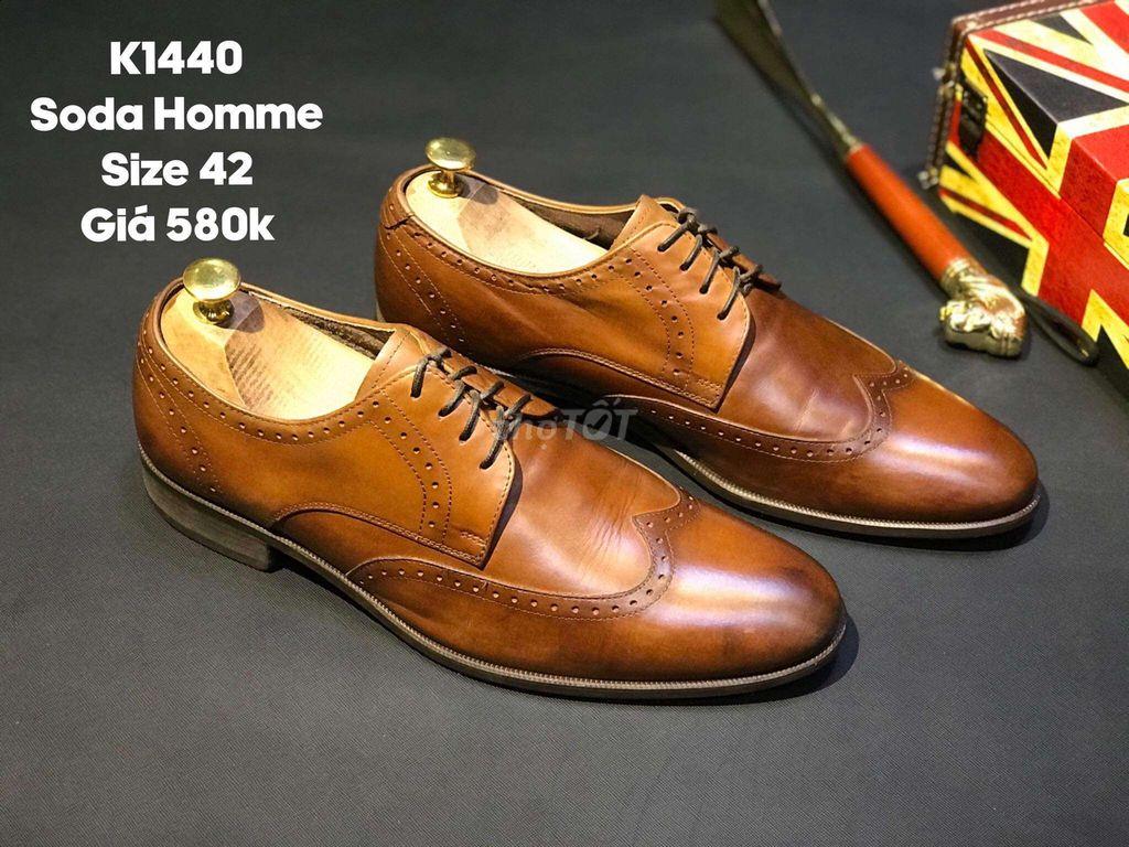 Giày tây soda homme màu nau