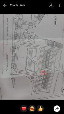 Bán đất phân lô 85m2 đường nhựa thị xã Sơn Tây. Cc