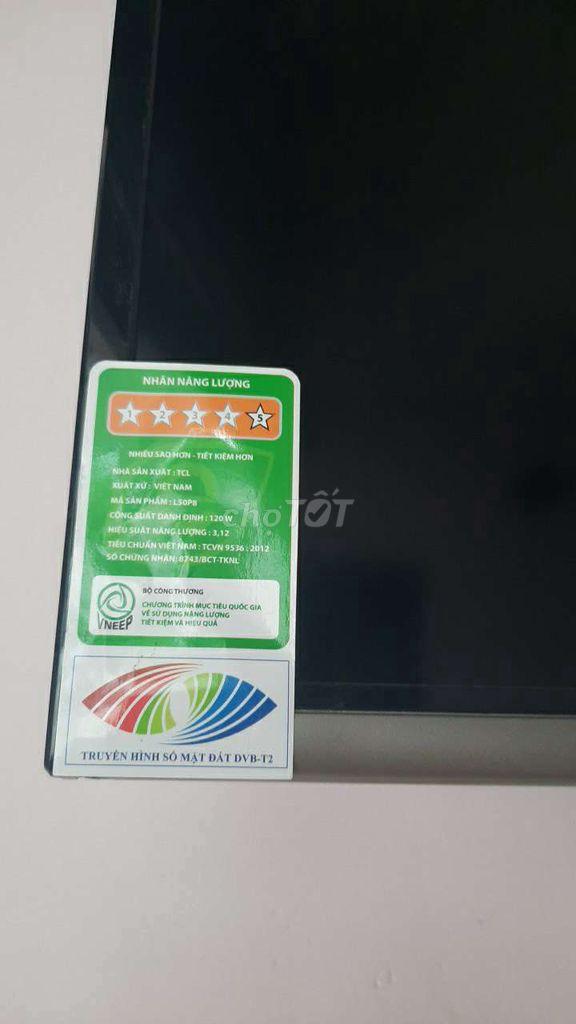 0941480372 - Cần bán Tivi TCL 4K L50P8 , 50 INCH