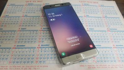 Đăng bán Samsung Note FE nguyên zin ram4gb rom64gb
