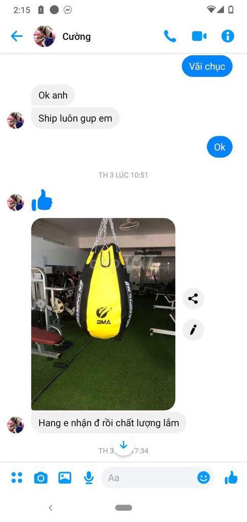 Bao Trái Lê BMA champion-spots Cao Cấp