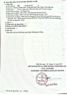 Đất Nguyễn Cơ Thạch, Thành Nhất 900tr-153m, BMT