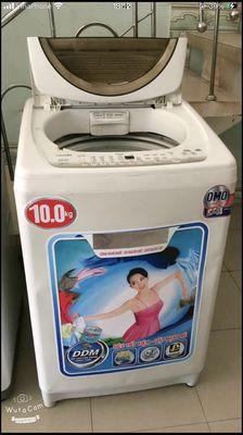 Máy 10kg giặt sạch vắt cực khô chạy cực êm