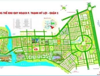 Đât sổ đỏ 90m2( 5x18 )Thạnh mỹ lợi quận 2