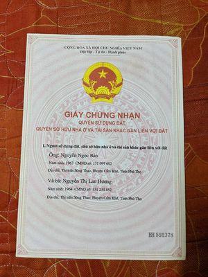 Cần bán nhà Việt Trì đối điện Bic C