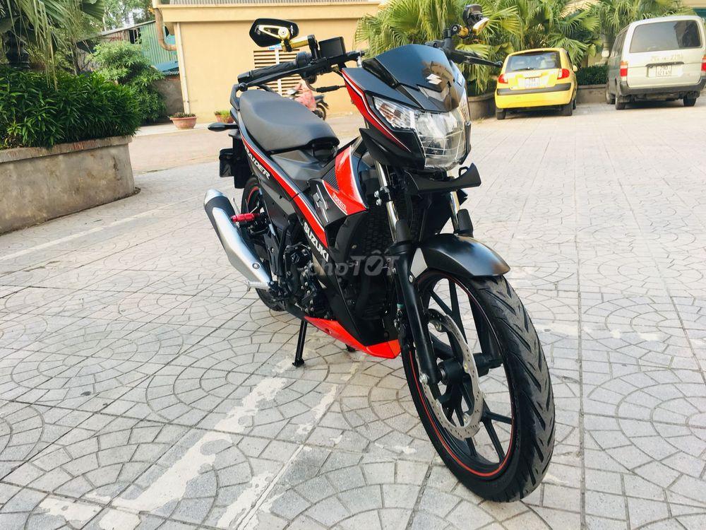 0352602254 - Suzuki Raider Fi 150 Đen Sần  Đky 1 Tháng bản 219