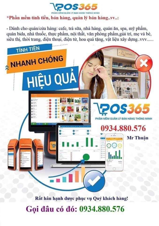Tư vấn triển khai phần mềm POS365 + SAPO