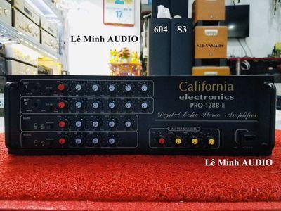 🍎 Amplifier Califoria PRO 128B-II hàng US