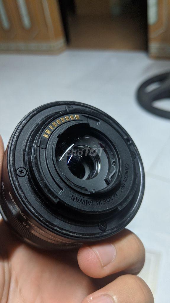 Combo canon m10 kit + ngàm + 50stm