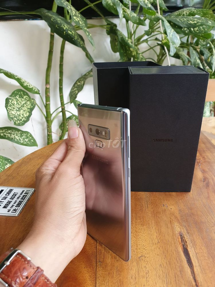 Samsung Galaxy Note 9 Titan Hàn Quốc full box