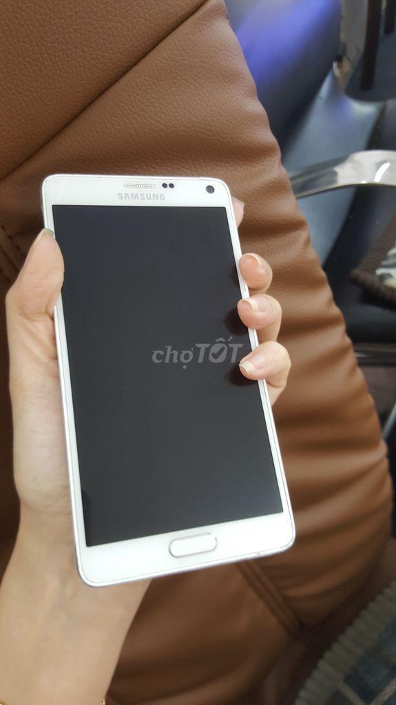 Samsung Galaxy Note 4 Trắng trai nghiêm gia re 32g