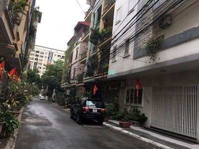 1,28 tỷ nhà 5 tầng oto tránh Thái Hà