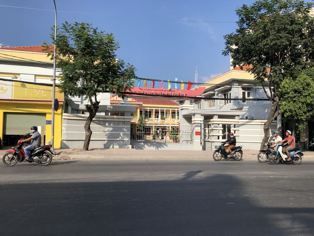 Nhà hẻm xe hơi 1092/17 Huỳnh Tấn Phát Q7