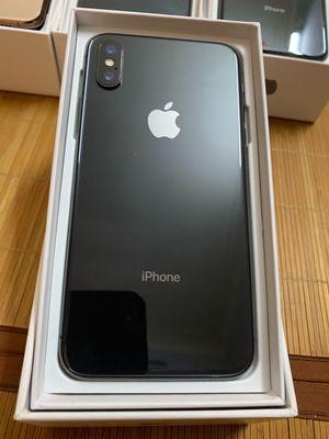 Apple iPhone X 256 GB đen nguyên hộp