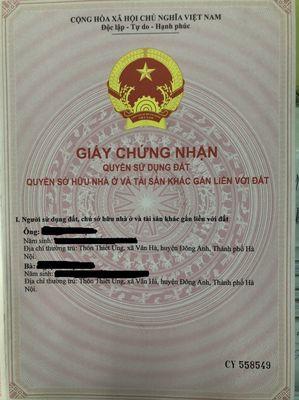 Bán biệt thự song lập Vinaconex2, KĐT Quang minh