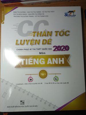 CC Book Thần tốc luyện đề Anh