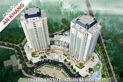 Chung cư Cao ốc An Khang 103m² 3PN