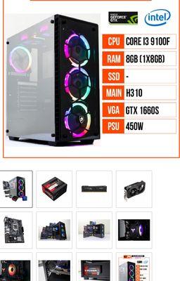 PC GAMING Radeon RX580 8GB(Giá cả fix nhẹ)