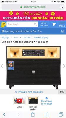 SuYang hát karaoke công suất lớn bảo hành dài
