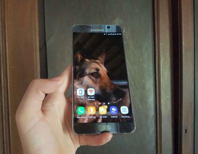 Samsung Galaxy Note 5 Bạc Màn hình RỘNG CỰC MÊ 🥰