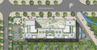 Chung cư Thành phố Qui Nhơn 68m² 3PN