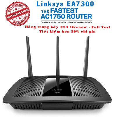 Router Linksys Ea7300 AC1750MB Mu - Mimo hàng Mỹ