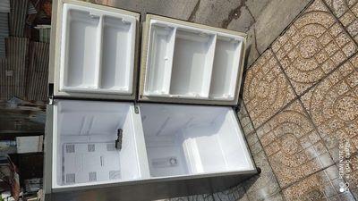 Xác tủ lạnh Panasonic về đựng đá