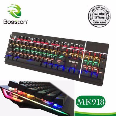 Bàn Phím Cơ Bosston MK918 Full Led