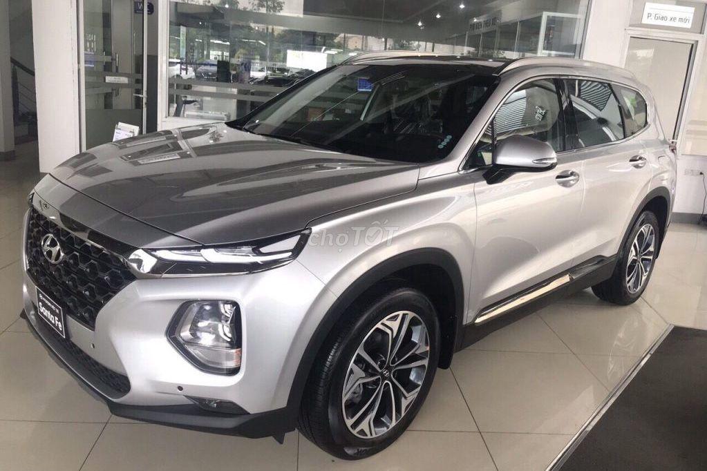 0913000509 - Hyundai Santafe Full, dầu 2019- giảm 100% trước bạ