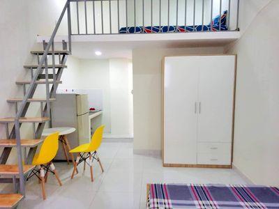 chính chủ cho phòng 25 m2 sạch đẹp nội thất cơ bản