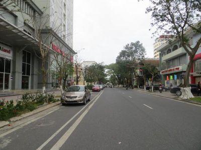 nhà cấp 4 gác lửng mặt tiền đường Trần Phú, 114m2