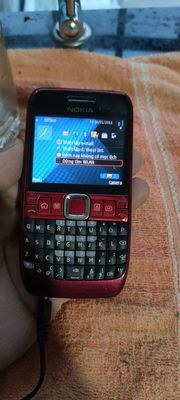 nokia E63 đỏ