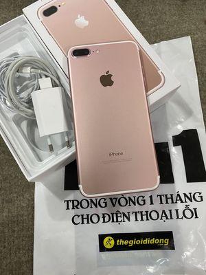 iPhone 7 Plus 32G Hồng QTế TGDD Zin Cứng CBH 3T
