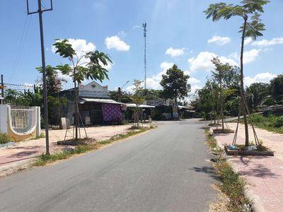 Nhà đường chính trường mầm non xã Tân Phú Đông