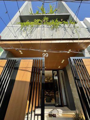 Nhà đẹp đường Phan Thanh 4 tầng