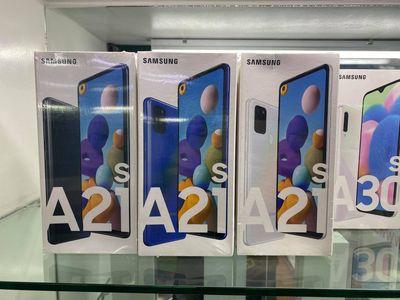 Tự tay bóc hộp Samsung galaxy A21 NEW fullbox