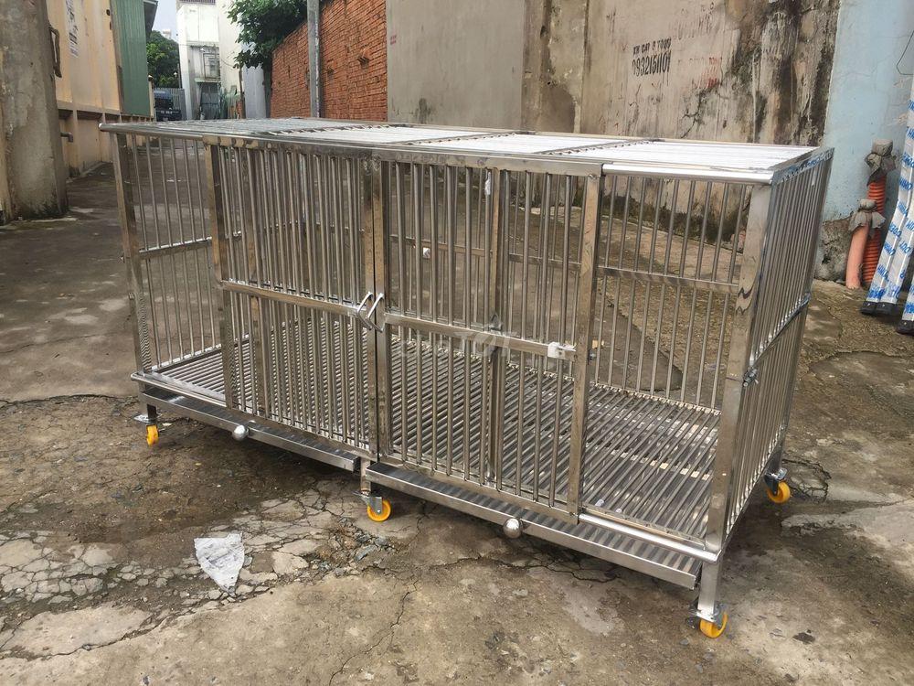 Chuồng chó inox Thuận Phát