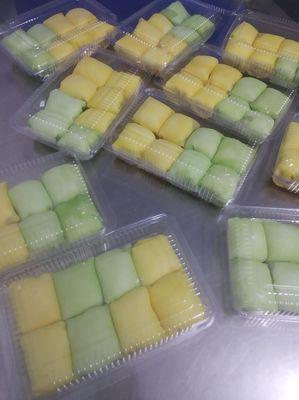 Bánh crepe sầu riêng 8c 50k