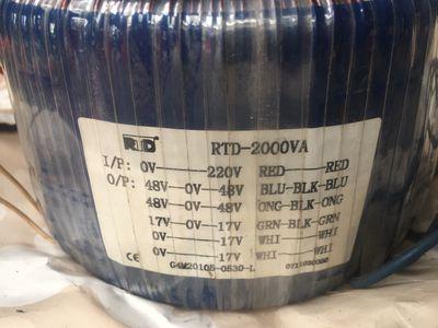 Biến áp xuyến Đẩy bãi 2000w lõi đồng nặng 12kg