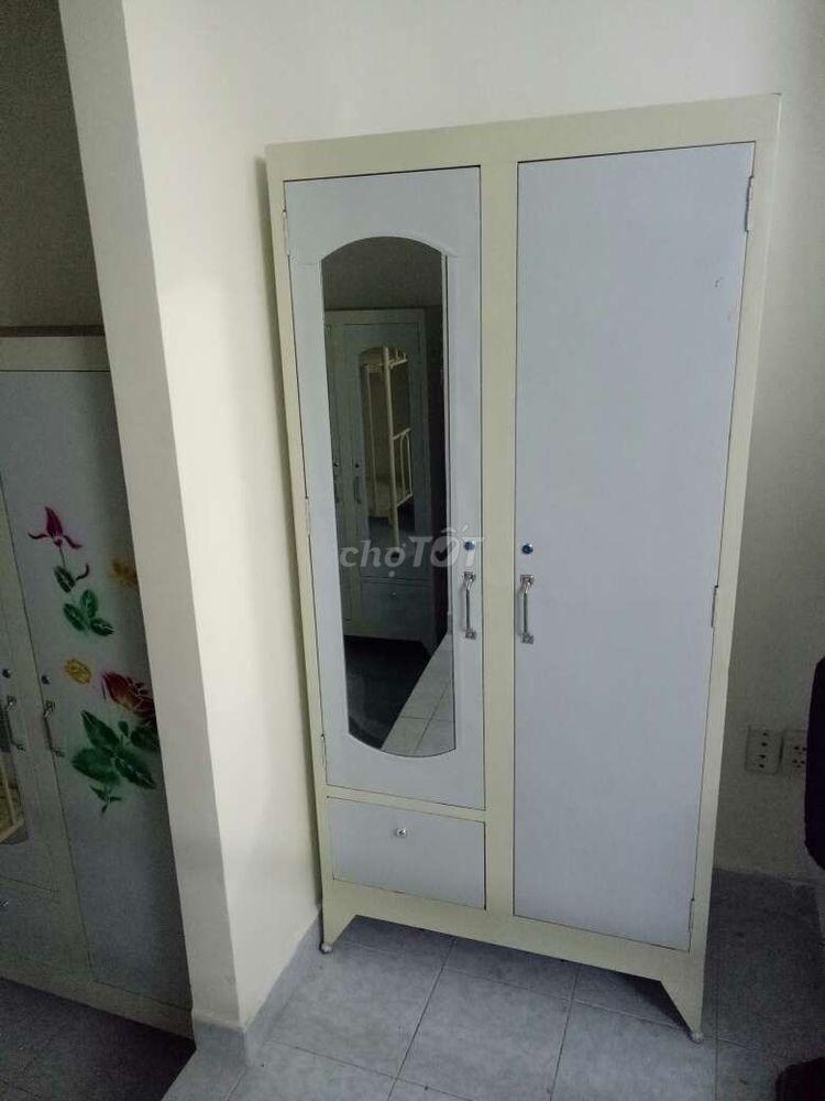 tủ sắt mẫu mới đựng quần áo, BH 12T_FS