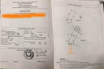 Nhà HXH Tân Bình DT đất=60m², XD 105m², 4PN