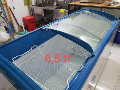 Tủ đông cửa lùa Sanaky Inverter và tủ nước ngọt