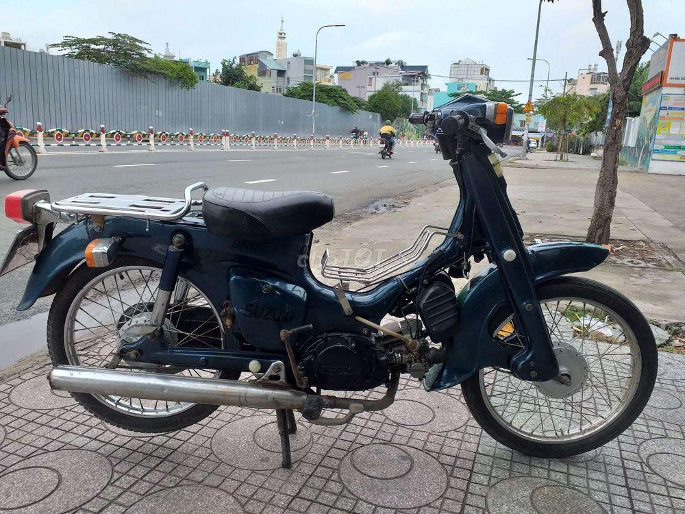 Suzuki 2 Thì 50cc .Máy êm như Xipo .Giấy tờ đầy đủ