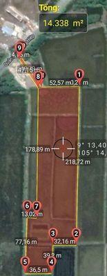 Đất TX Giá Rai 14.338m2 QL Phụng Hiệp Cầu L.Thành